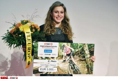 2. Platz  für Laura Stigger beim Sporthilfe Jugendsportpreis